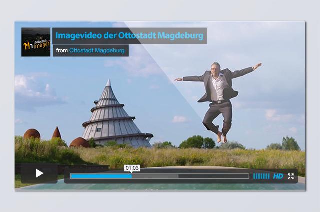 Digital Design – Imagefilm Stadt Magdeburg